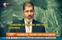 Mursi'nin darbeden önceki son konuşması