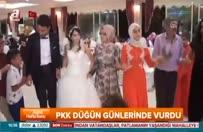 PKK düğün günlerinde vurdu!