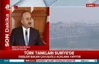 """Çavuşoğlu: """"Fırat Kalkanı"""" operasyonu hakkında açıklama"""