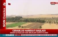 Türk tankları Suriye topraklarında...