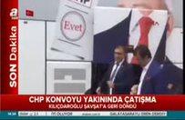 Kemal Kılıçdaroğlu'nun konvoyuna saldırı!