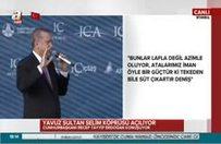 Cumhurbaşkanı Erdoğan: Bunlar istismarcıdır