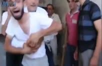 Suriyeli babanın çocuğuna kavuşma anı