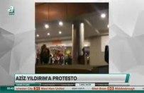 Fenerbahçe taraftarından Aziz Yıldırım'a protesto!