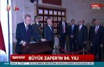 Cumhurbaşkanı Erdoğan Anıtkabir özel defterini imzaladı