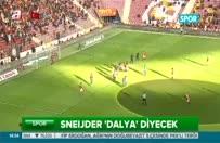 Rize maçı Sneijder için özel olacak