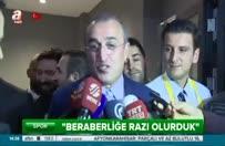 Abdürrahim Albayrak'tan derbi sonrası açıklamalar