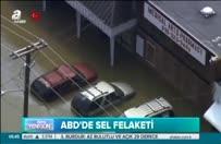 Nehir taştı, kent suya gömüldü