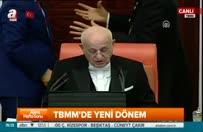 Erdoğan, TBMM'de alkışlarla karşılandı