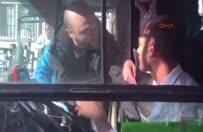 Alkollü sanılan otobüs şoförüne linç girişimi!