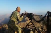 PKK'dan ele geçirilen Doçka ile PKK'ya ateş