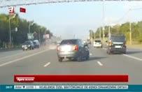 Trafikteki tehlikeli 'şov'un sonu!