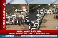 Antalya'da patlama! Menderes Türel A Haber'e konuştu