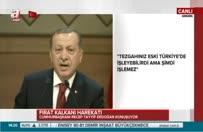 Erdoğan: Biz kula kul olmadık!