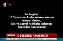 Erdoğan'ı duygulandıran o belgesel A Haber'de...