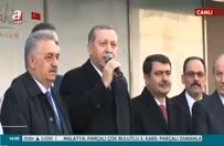 Erdoğan'ın alışveriş merkezi açılışı ardında yaptığı konuşma