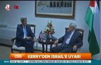Kerry İsrail'i uyardı