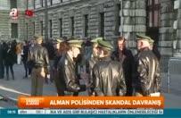 Alman polisinden TBMM başkanvekili saygısızlık!