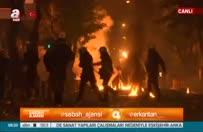 Atina'da göstericiler polisle çatıştı!.