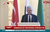 Yıldırım, Türk-Tatar İş Forumu'nda konuştu