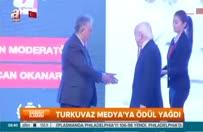 Turkuvaz Medya'ya ödül yağdı