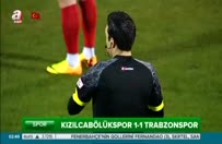 Trabzonspor 1-1 Kızılcabölükspor maç özeti