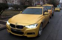 Lüks taksiler yollarda