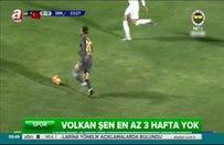 Fenerbahçelileri üzen sakatlık!