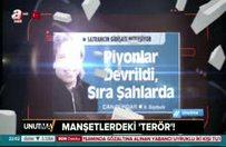"""Manşetlerdeki """"terör"""""""