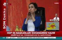 Demirtaş ve Yüksekdağ'a istenen ceza belli oldu