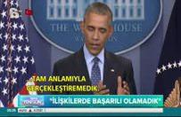 Obama'dan giderayak İsrail-Filistin açıklaması
