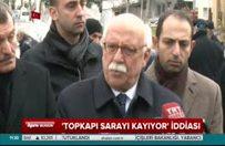 Bakan Avcı'dan 'Topkapı Sarayı kayıyor' iddiasına yanıt