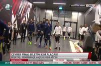Caner Erkin F.Bahçeli futbolcuları böyle karşıladı