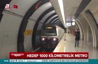 İstanbul için hedef 1000 kilometrelik metro