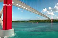 Ulaştırma Bakanı Arslan 1915 Çanakkale Köprüsü'nün görselleri ilk kez paylaştı