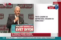 Yıldırım: Türkiye olarak rahatsız etmeye devam edeceğiz