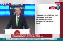 Erdoğan: Keramet sistemde değil