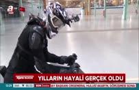 Yılların hayali gerçek oldu: Hoverbike Scorpion!