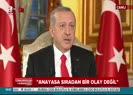Cumhurbaşkanı Erdoğan: Halk kendi içerisinden cumhurbaşkanı çıkarabilecek