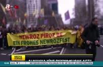 """PKK'lılar Almanya'da """"hayır"""" oyu istedi!"""