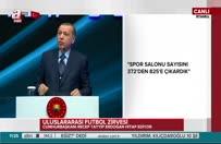 Cumhurbaşkanı Erdoğan'dan stat müjdesi