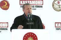 Erdoğan: Elalem uzaya çıkarken siz darbeyle uğraşıyordunuz