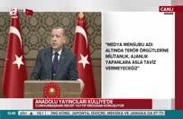 Cumhurbaşkanı Erdoğan'dan Merkel'e Hollanda yanıtı