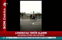 Londra'da parlamento önünde silahlı saldırı