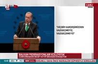 Erdoğan'dan Bulgaristan'daki seçimlerlerle ilgili çağrı