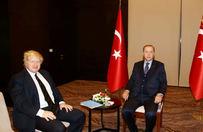 Erdoğan, Johnson'u kabul etti