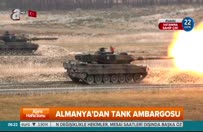 Almanya'dan tank ambargosu
