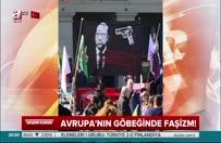 Erdoğan'a yönelik çirkin pankart