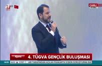 Enerji Bakanı Berat Albayrak, 4.TÜGVA Gençlik Buluşması'nda konuştu