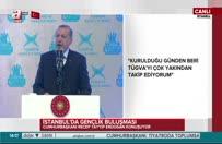 Cumhurbaşkanı Erdoğan: İdeolojilere prim vermeyen bir gençlik yetişsin istiyoruz